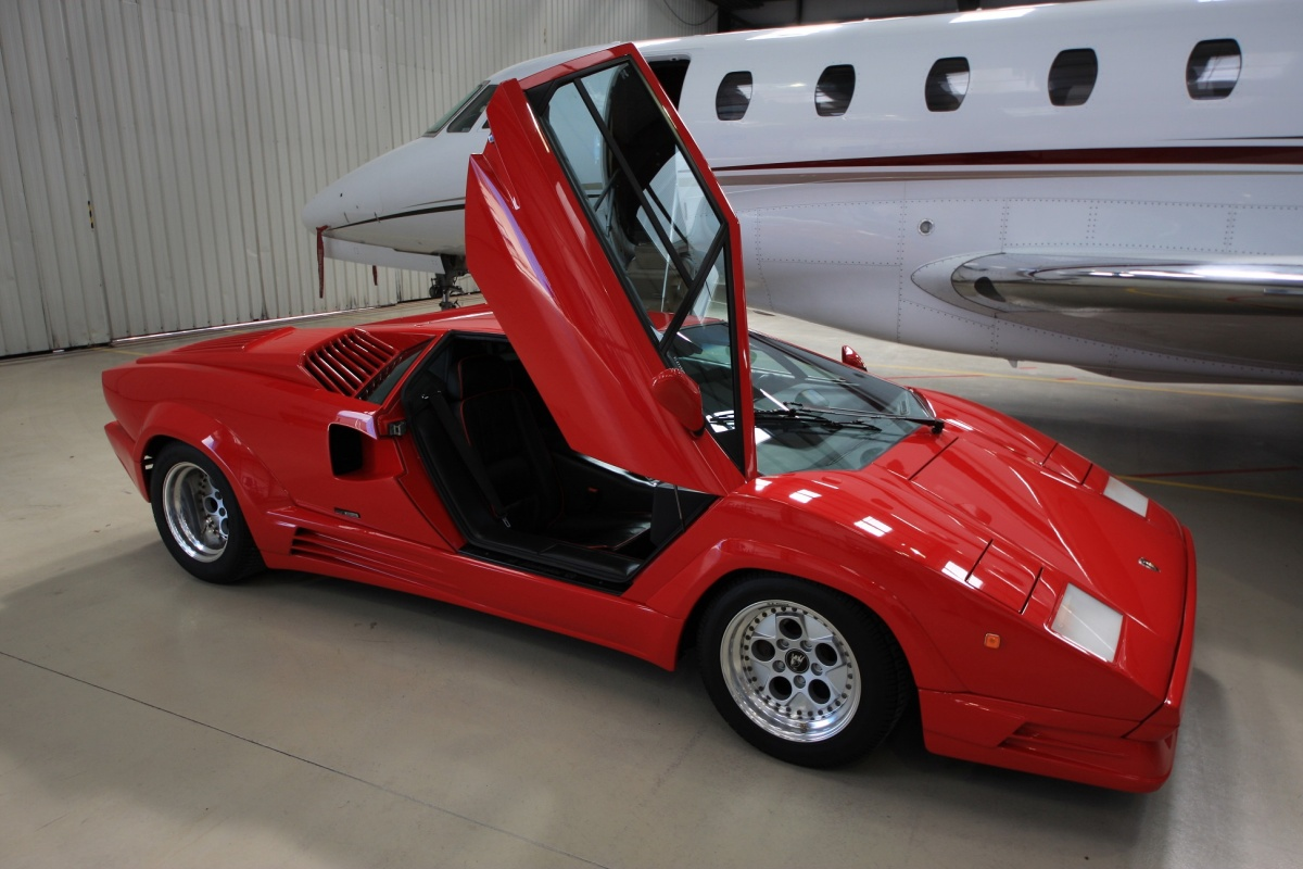 1989 Lamborghini Countach 25th Anniversary Edition For Sale In Uk