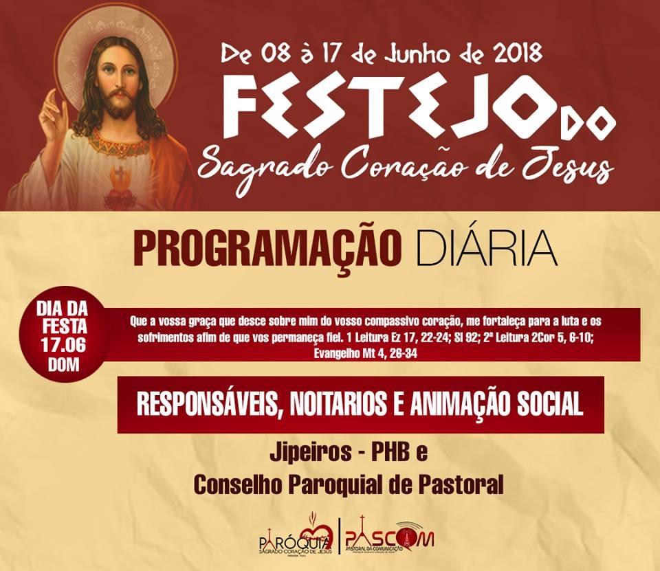 Jornal da Parnaíba  Neste domingo será o encerramento dos festejos ... 6575186ff0