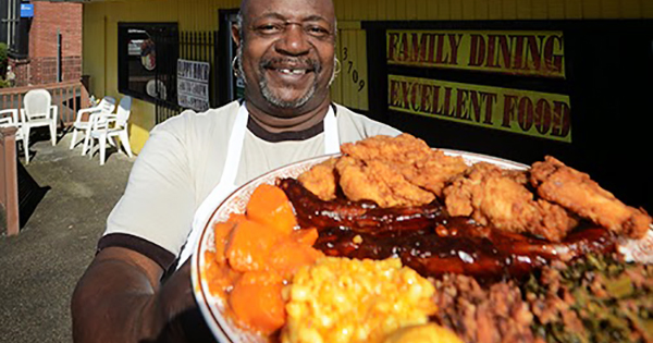 Black-owned restaurant owner