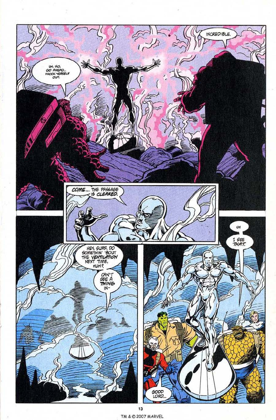 Read online Silver Surfer (1987) comic -  Issue #96 - 15