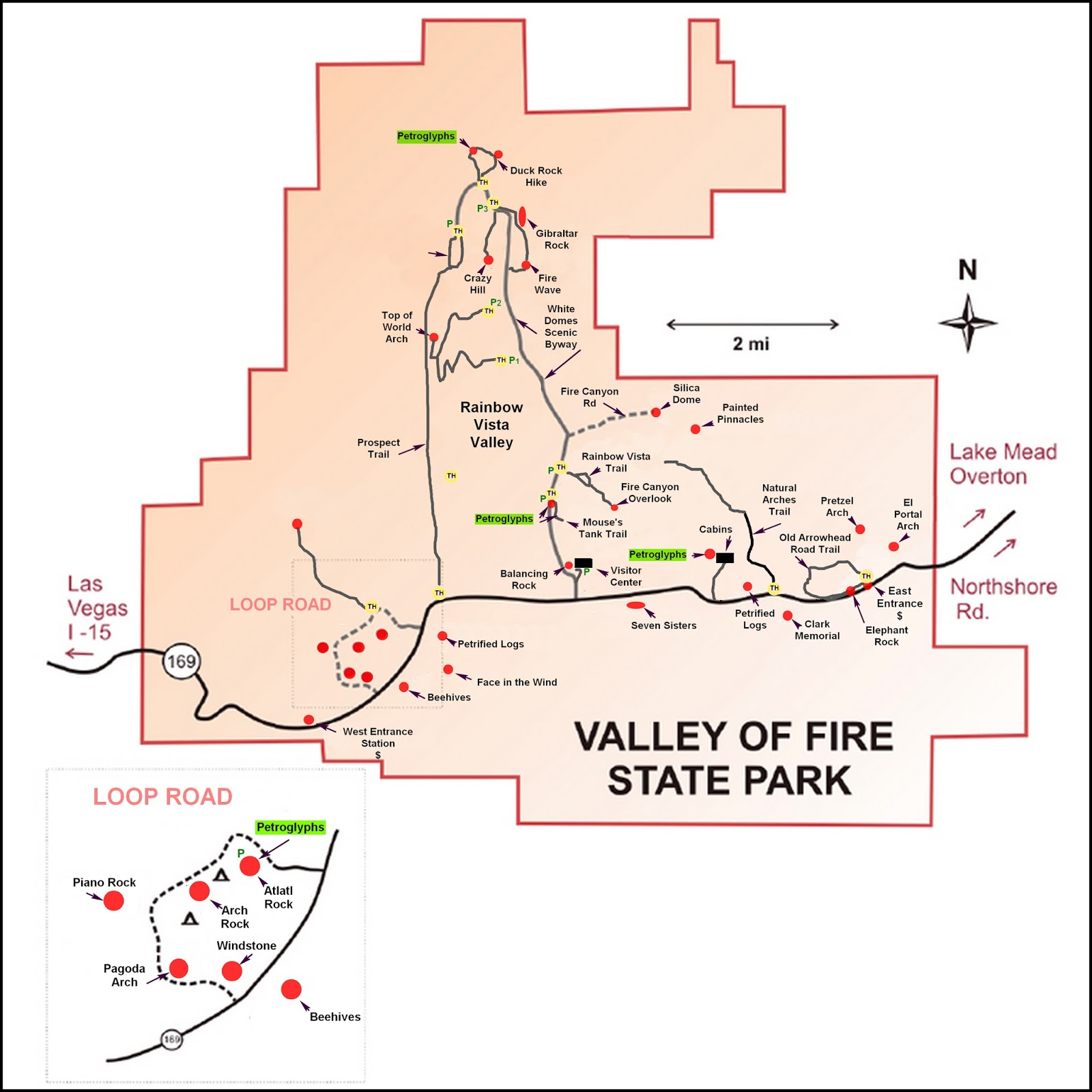 Ken S Photo Gallery Valley Of Fire State Park Summary Page