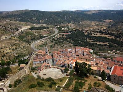 Vistas desde el castillo de Morella