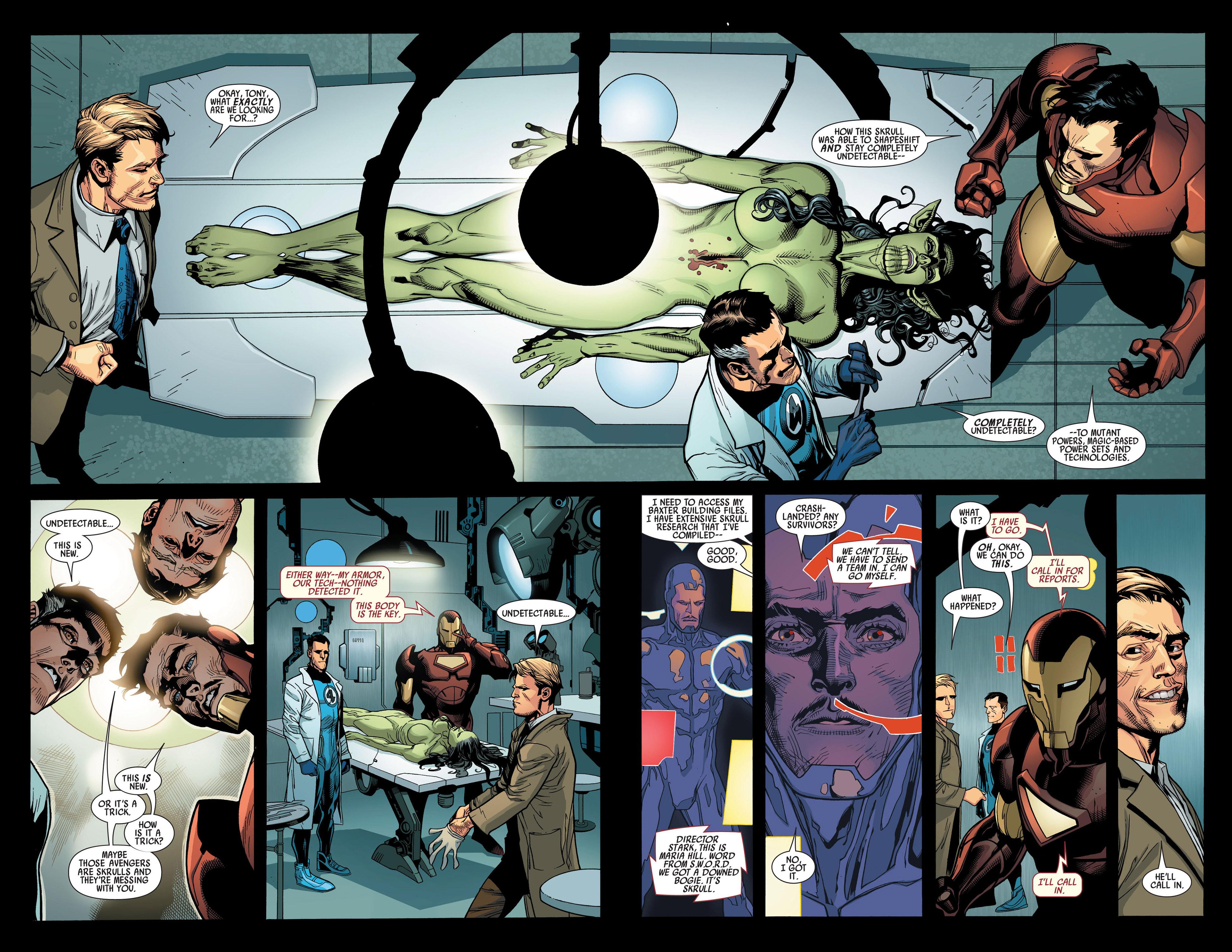Read online Secret Invasion comic -  Issue #1 - 8