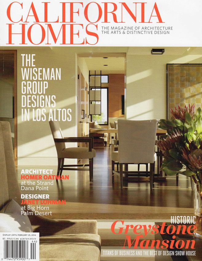 Stairway To Heaven California Homes Magazine Winter 2013