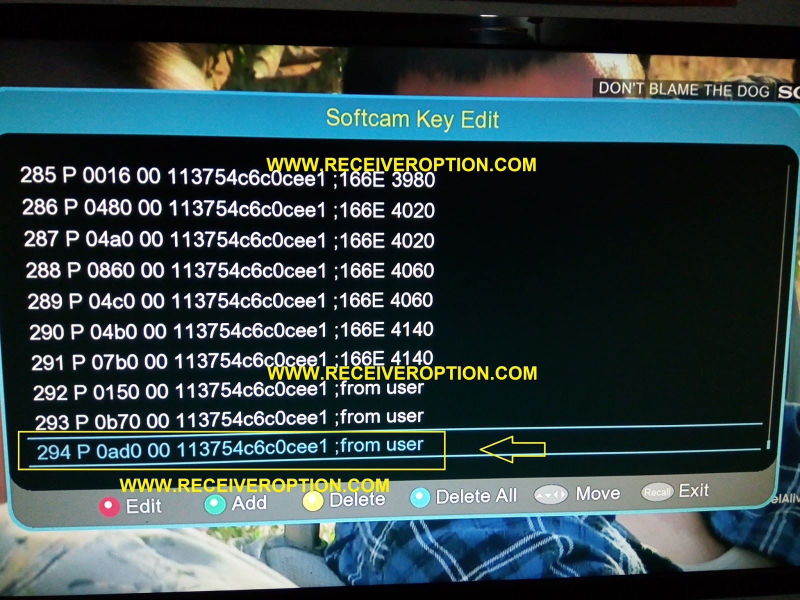 HOW TO ADD POWERVU KEY IN ACCESS CONTROL HD RECEIVERS - HOW