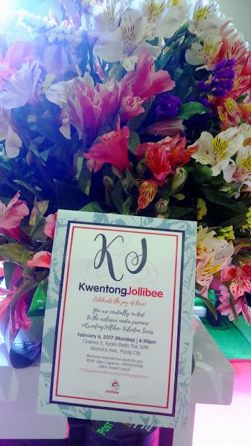 Let's celebrate Valentine's season with #KwentongJollibee