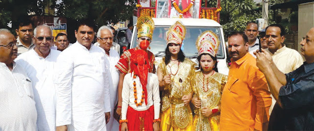 Attending religious rituals brings mental and physical peace: Lalit Nagar