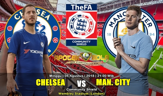 Prediksi Chelsea Vs Manchester City 5 Agustus 2018