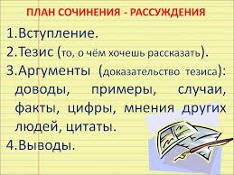 Умение правильно писать сочинение огэ 15.2