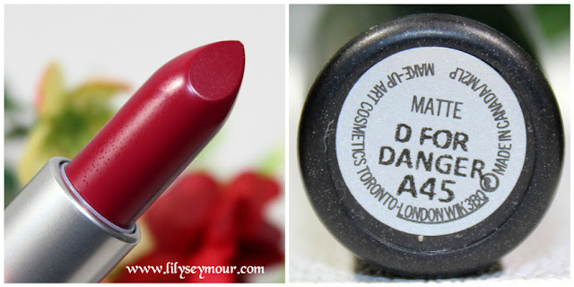 D For Danger Lipstick by Mac Cosmetics