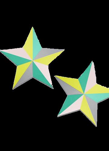 Star-Kombination: Aufkleber für die Wand von Hay