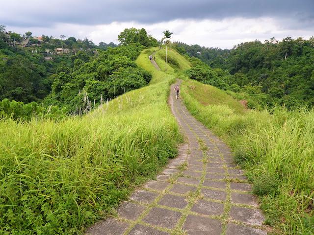 promenad i Ubud - Bali
