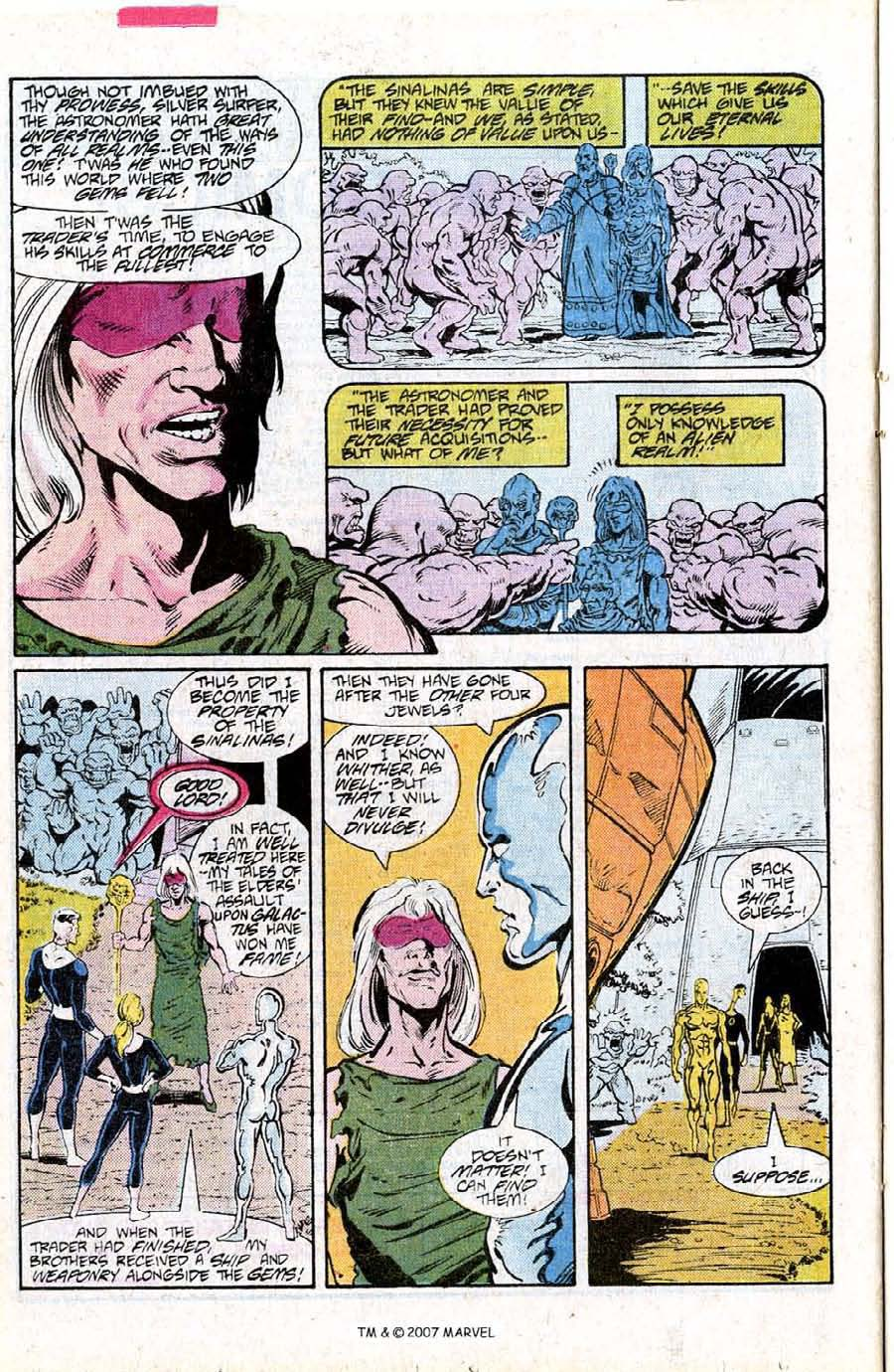 Read online Silver Surfer (1987) comic -  Issue #15 - 24