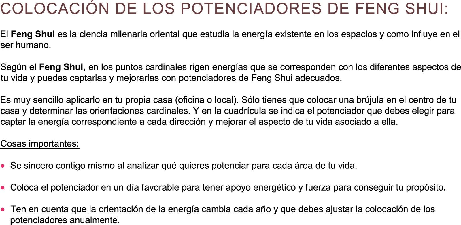 El blog de yuan potenciadores de feng shui para el a o for Como eliminar el desorden con el feng shui