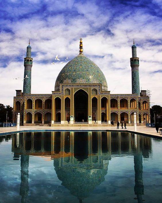 Dutch Auction - Agha Ali Abbas Mosque, Iran