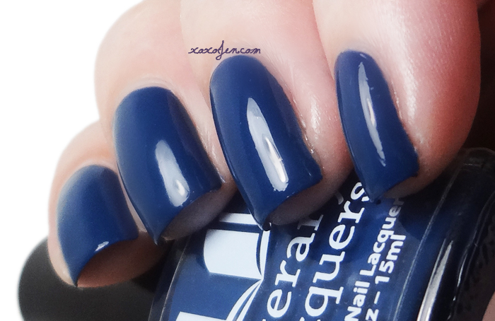 xoxoJen's swatch of Literary Lacquers Bluestocking Romance