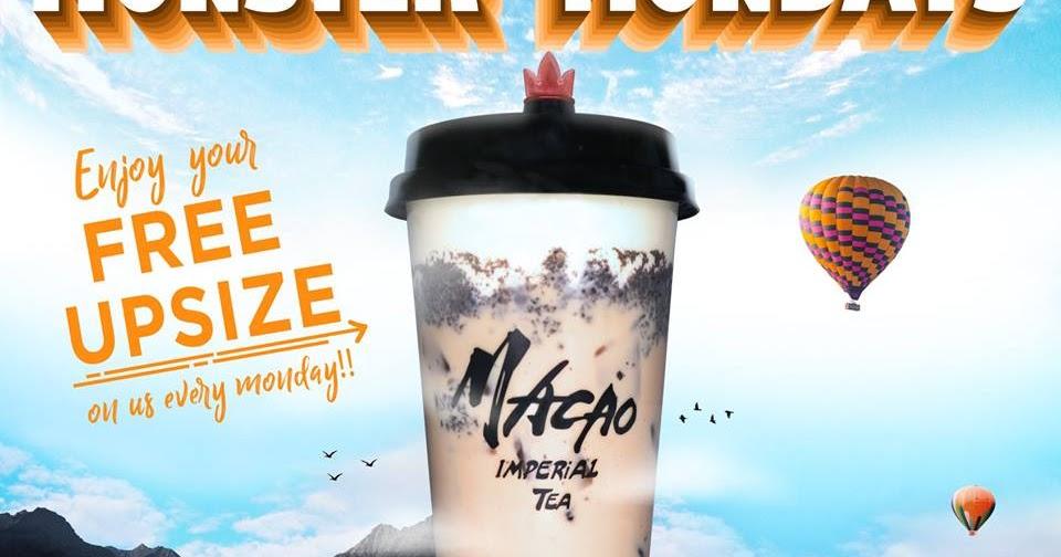 Manila Shopper Macao Imperial Tea Monster Mondays Promo Dec 2018