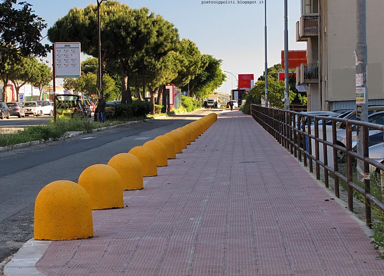 Pista ciclabile di RC, ultimo tratto Viale Calabria