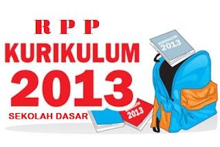 RPP Kurikulum 2013 SD