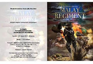 Tayangan Perdana Filem Mslay Regiment Di MMCineplex