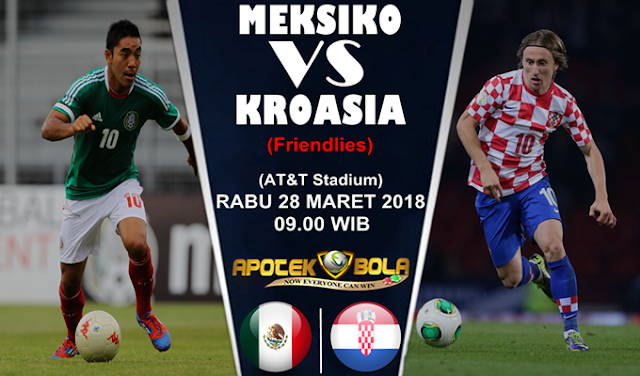 Prediksi Meksiko vs Kroasia 28 Mei 2018