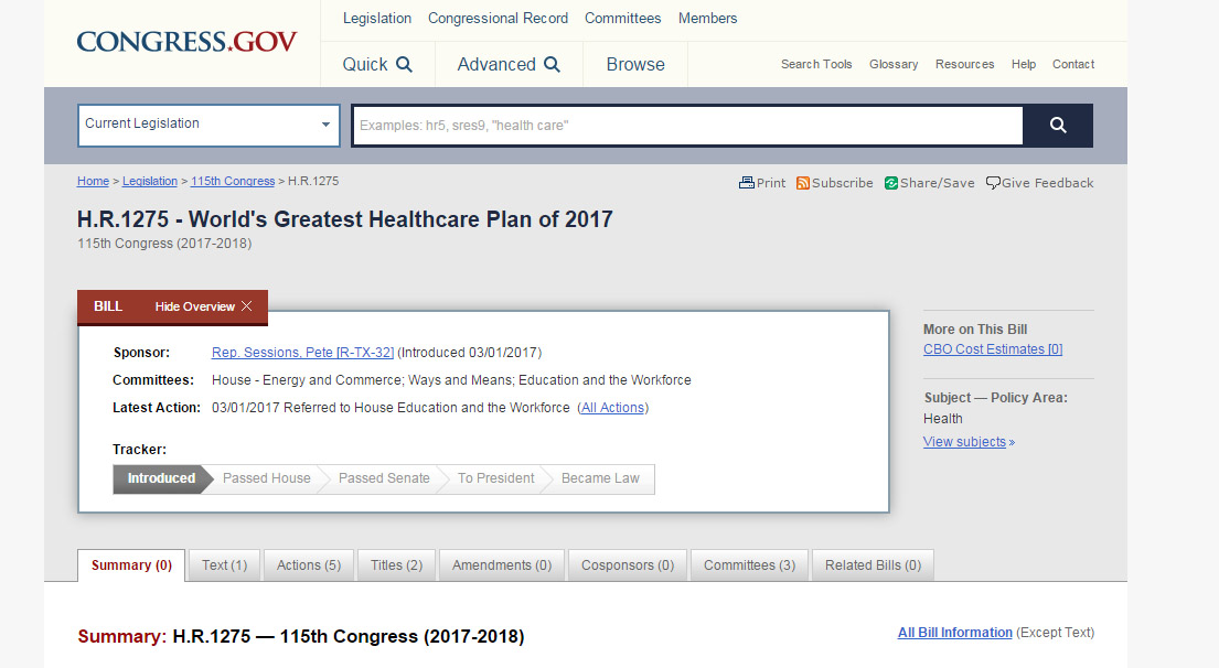 Green Eagle Have You Seen The Name Of The Republican Health Care Bill