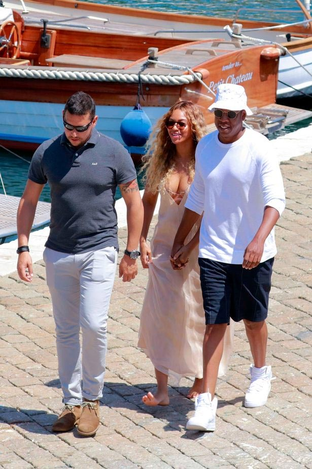 Jay Z and Beyonce all smiles as couple holiday in Monaco