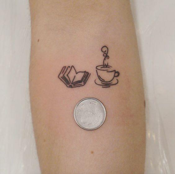 21+ MEJORES tatuajes de café para cafeadictos【TOP 2019】