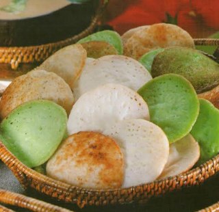 Resep cara membuat kue serabi imut bandung lembut dan asin