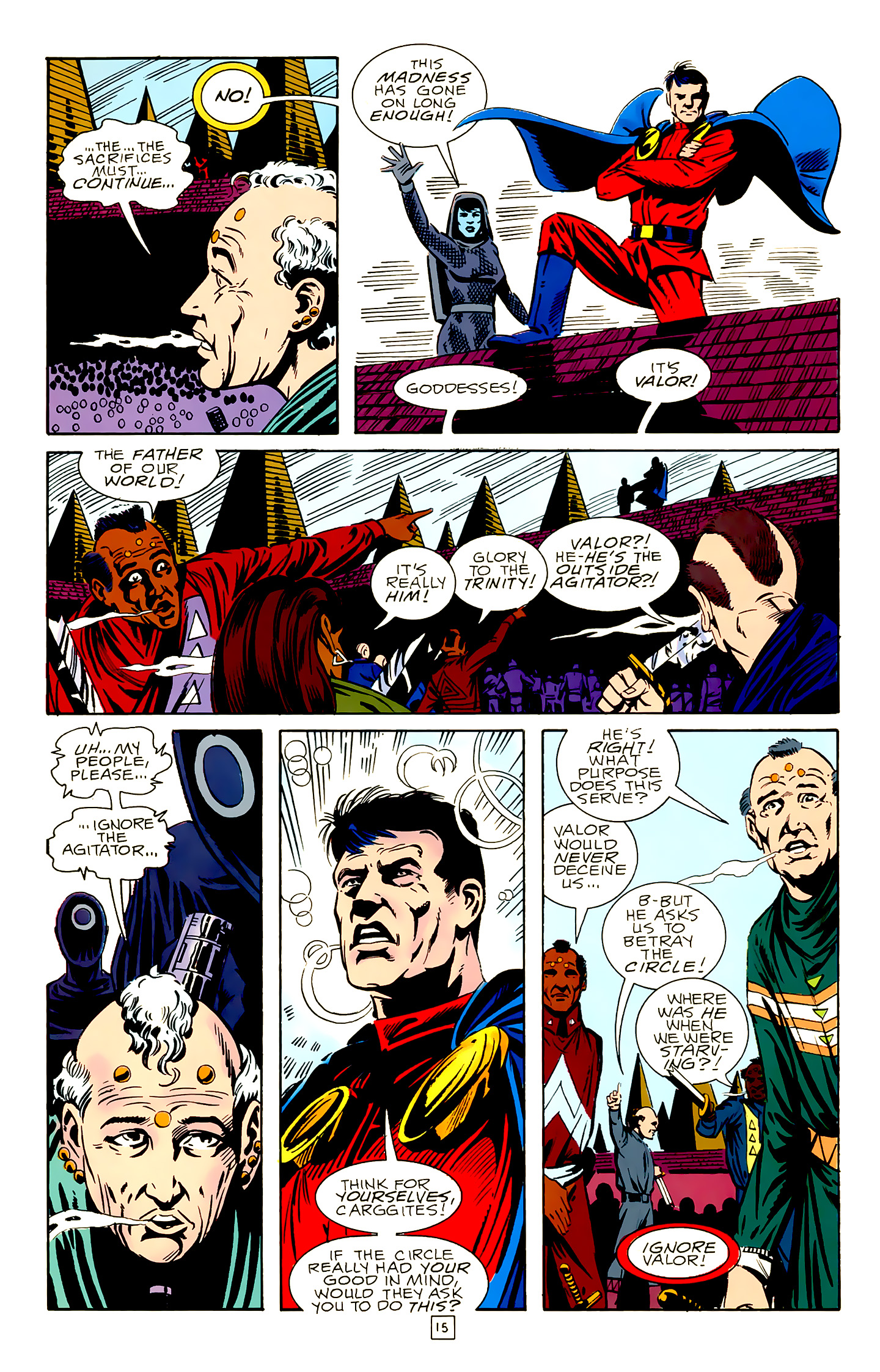 Legion of Super-Heroes (1989) 18 Page 15