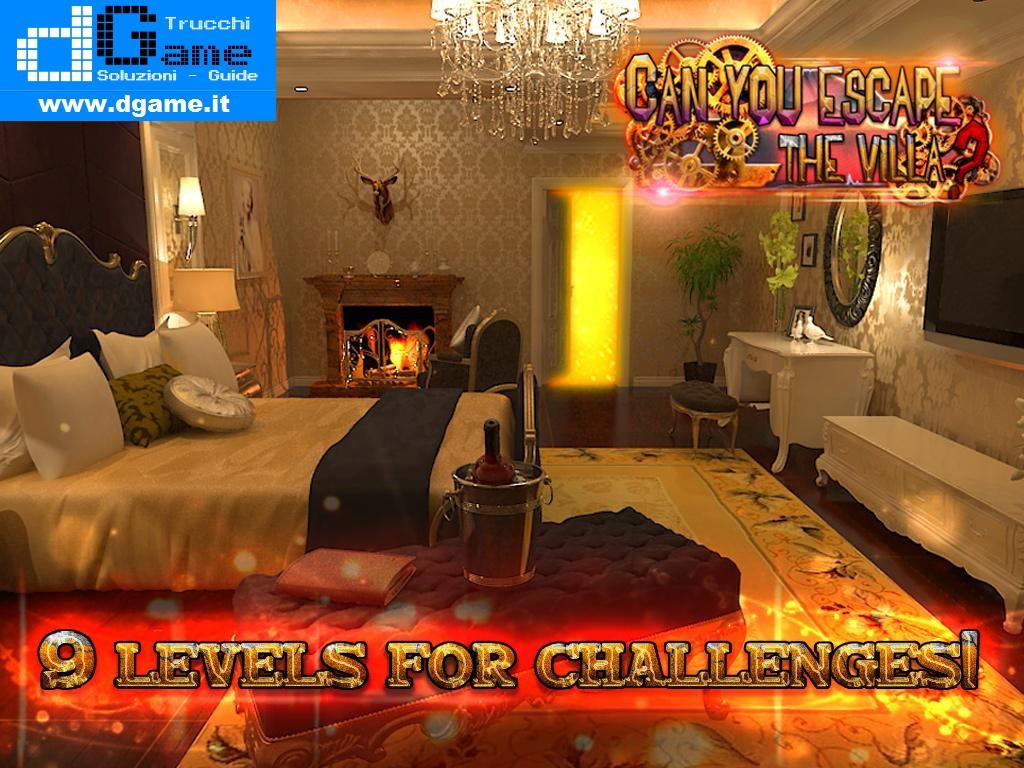 Soluzioni Can you escape the villas ? di tutti i livelli