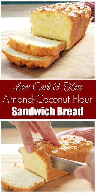 COCONUT AND ALMOND FLOUR SANDWICH BREAD