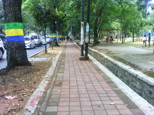 Trotoar adalah hak pejalan kaki