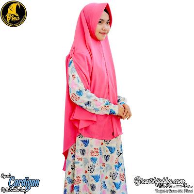 Jilbab model rompi terbaru yang lebih panjang dan syar'i