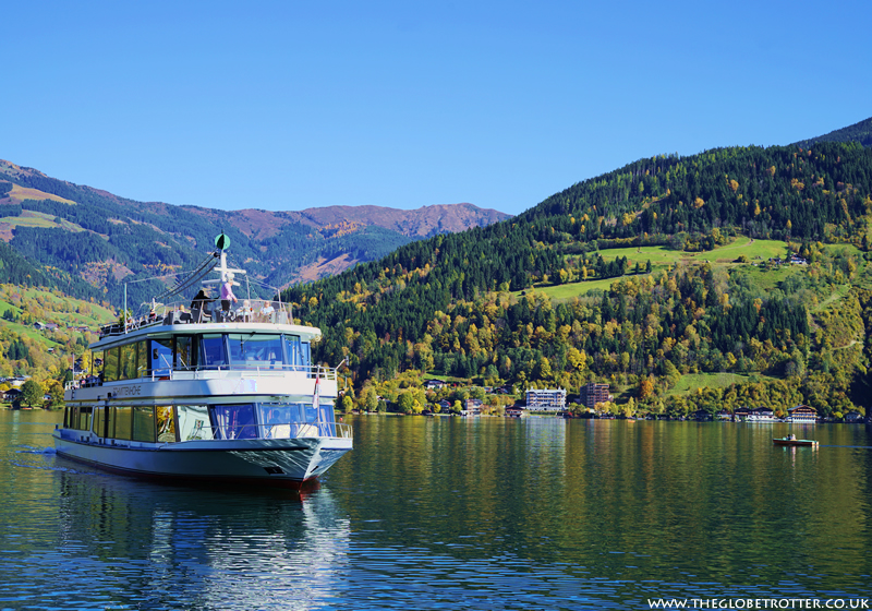Boat excursion on Lake Zell