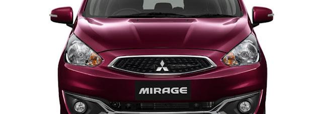 Depan Bumper New Mirage
