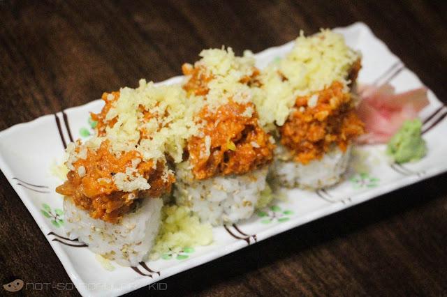 Spicy Toro Maki of Nihonbashi Tei