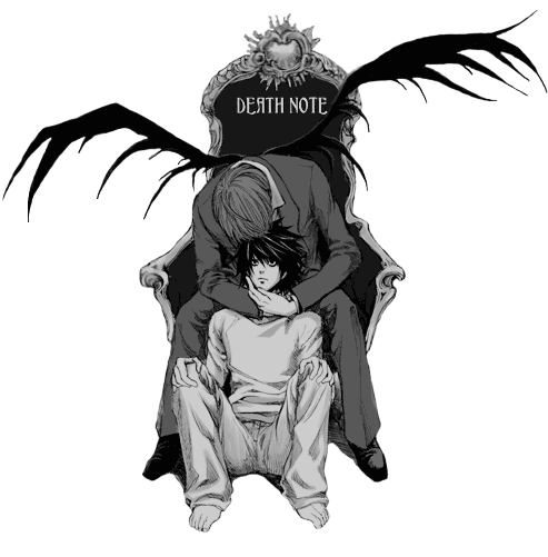 render Death Note+ L x light