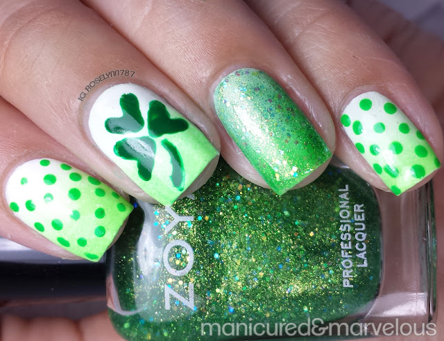 How to: St. Patrick Clover & Dots