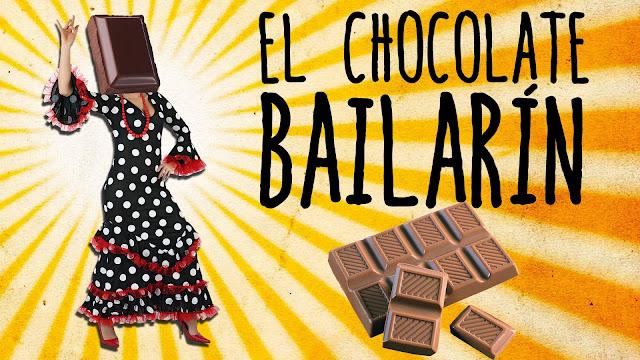 experimento, chocolate, bailarin