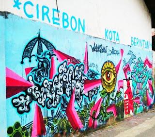 Tembok Cirebon Kota Berintan