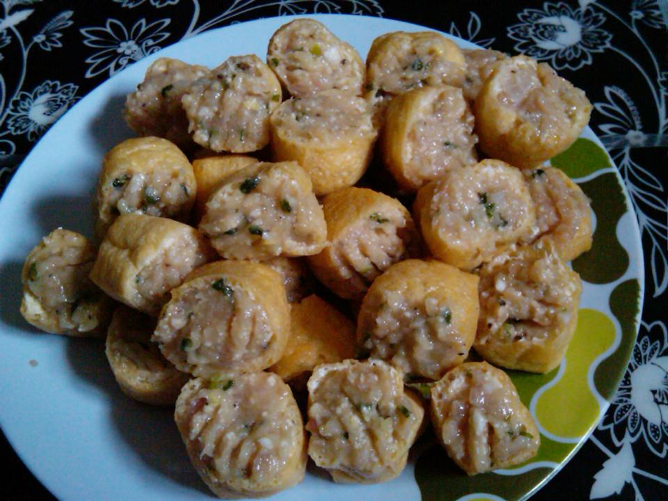 Dari Dapur Ummu: Resepi TAUHU SUMBAT ISI AYAM