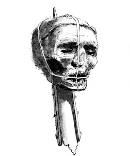testa di Cromwell- fine 700