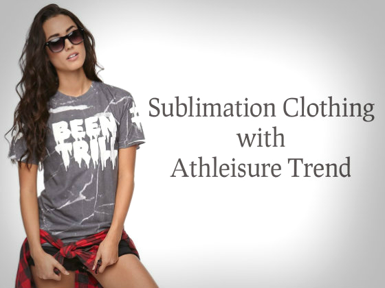 Sublimation Clothing Athleisure Trend