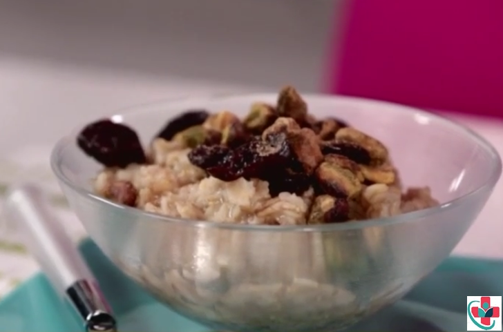A 5-minute oat porridge recipe for weight loss