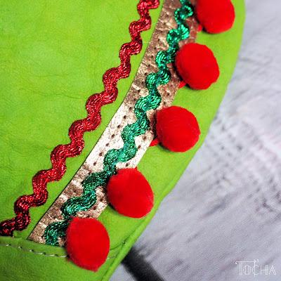 Frida Kahlo, hip bag, fanny bag, bum bag, Washpapa, greenery, Pantone, pompoms, Minerva Crafts, folk, nerka, saszetka, washable paper, kraft paper, vegan leather,