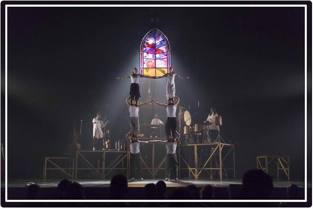Tabarnak  Cirque Alfonse au Théâtre Bobino