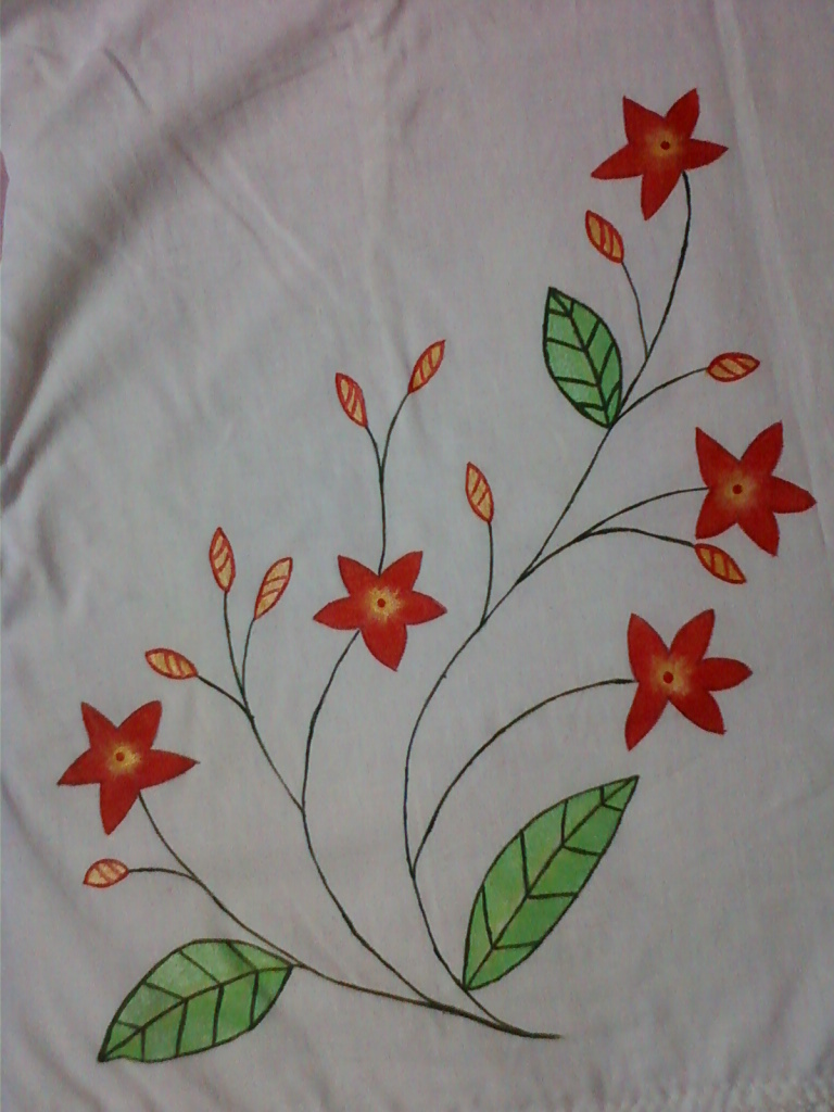 A New Beginning: Fabric Painting