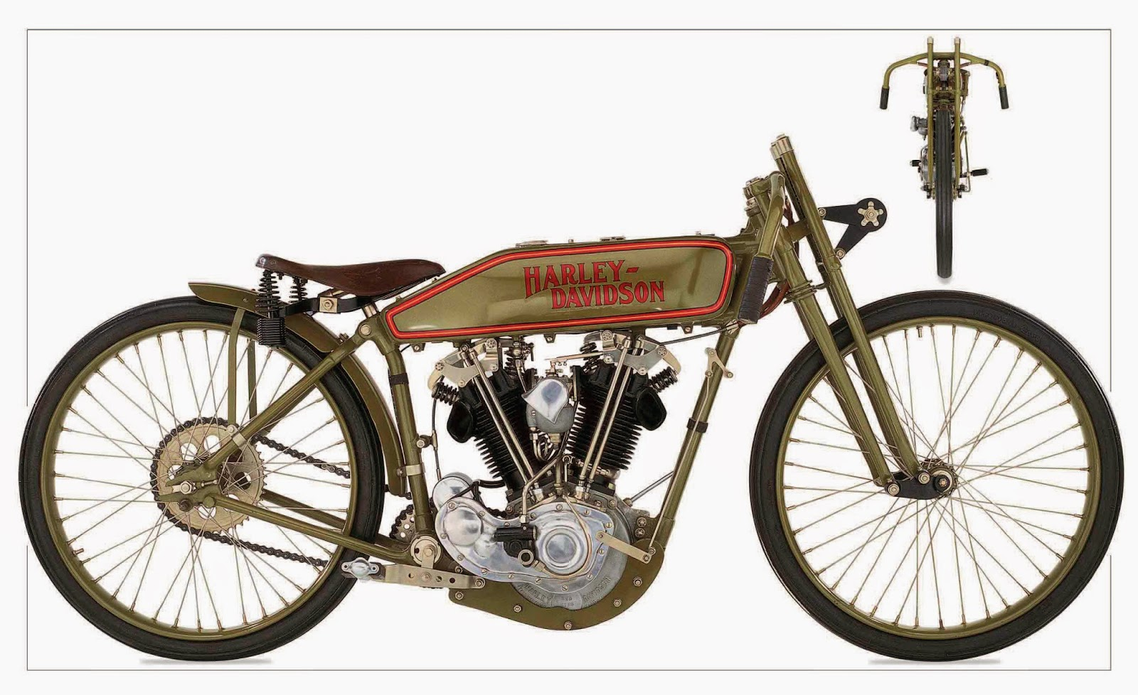 Harley Davidson 1920 Eight-Valve Racer