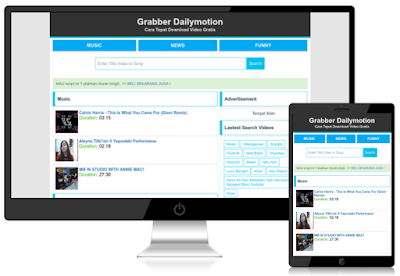 Script Grabber PHP Video Dailymotion Downloader